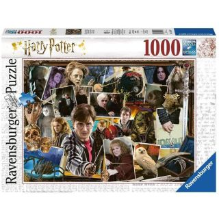 Ravensburger Puzzle 1000 p - Harry Potter contre Voldemort