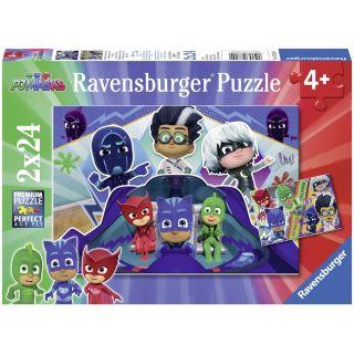 Ravensburger Puzzle PJ Masks 2X24pcs 7824