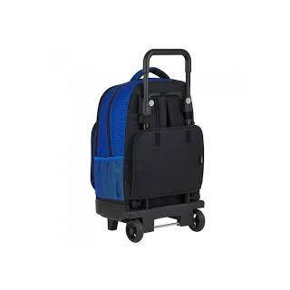 Sac à dos à roulettes Umbro Bleu et Noir 45 CM Trolley Haut de Gamme