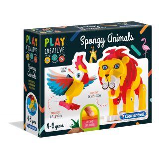 Spongy Animals-15271-Clementoni