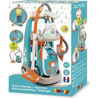Tableau de nettoyage Smoby avec aspirateur