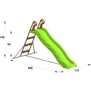 Toboggan DANOU de 2,15 m. de glisse