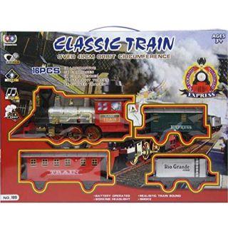 Train classique 13 pcs avec son et lumière