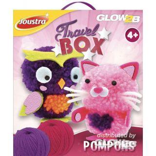 Travel Box Pompons- 41515- Joustra