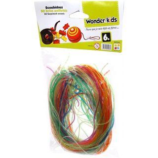 WDK PARTNER - A1300483 - Loisirs créatifs - 100 brins de scoubidous
