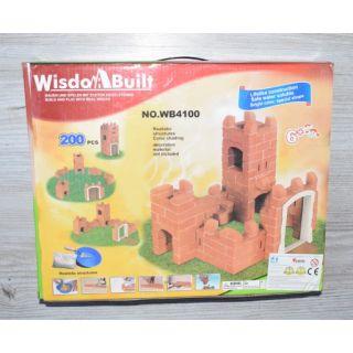 chateau a construire avec colle 200 Pcs